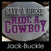 Buckle Ride a Cowboy Western Country Gürtelschnalle