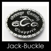 Buckle Gürtelschnalle Biker Orange County Harley